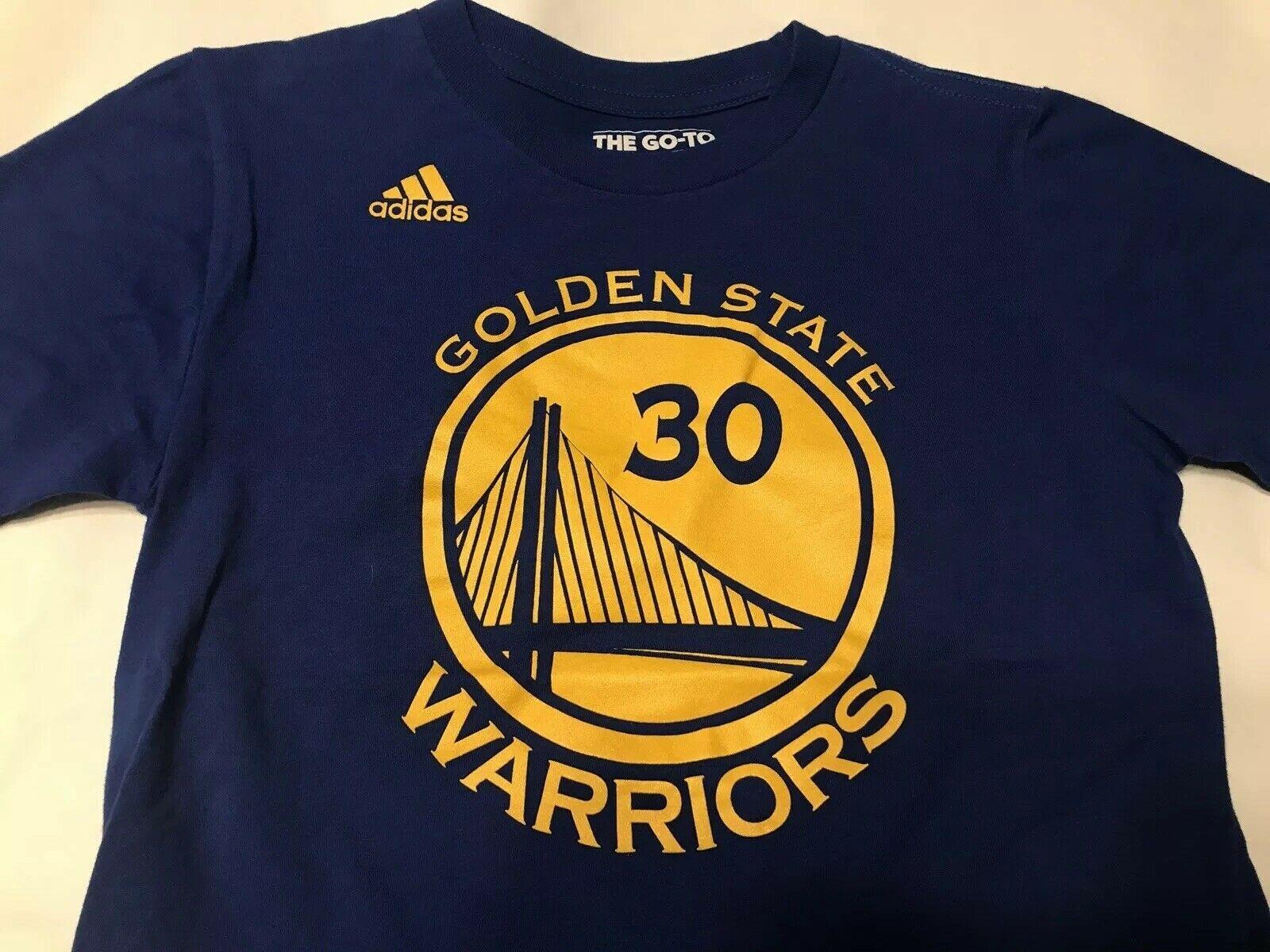 Trampki 2018 fantastyczne oszczędności sprzedaje Golden State Warriors Adidas Stephen Curry T-Shirt Youth ...