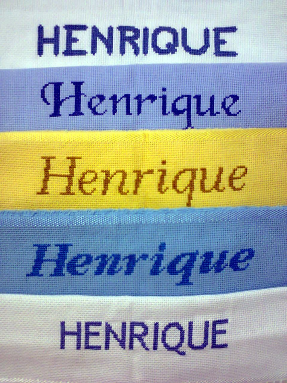 Sr. Henrique!