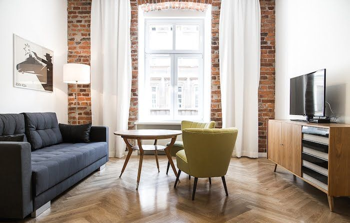 Wnętrza Zewnętrza - blog wnętrzarski: Apartamenty Relaks w Krakowie