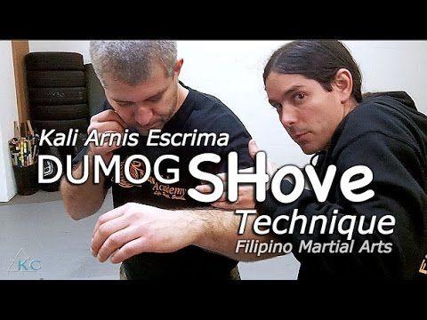 Kali EMPTY-HANDS Technique - Dumog Arm Shove - Panantukan Techniques. Filipino martial arts