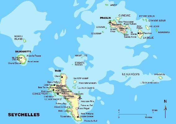 Maps Von Kathleen Koen 7 In 2020 Seychellen Sardinien Reisen