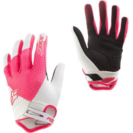 Fox Racing Reflex Gel Gloves Women S Fox Racing Motocross Gear Dirt Bike Girl