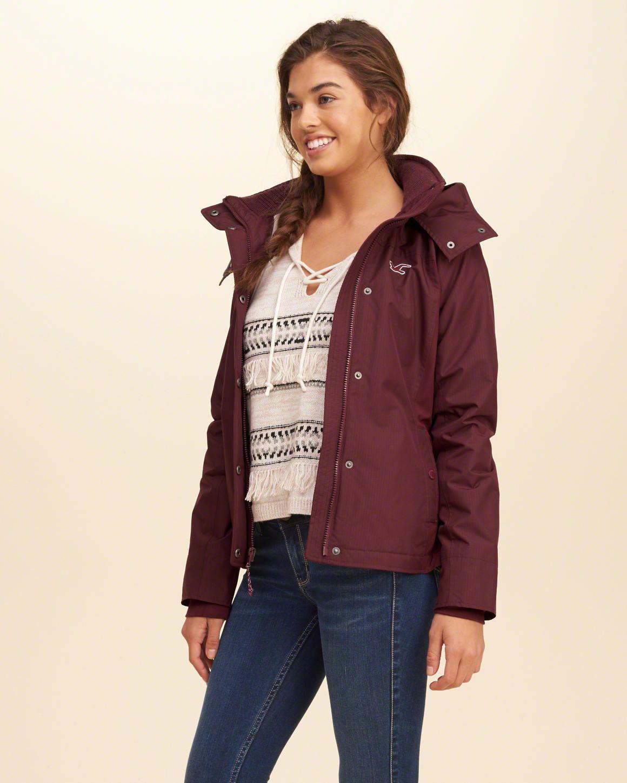 Girls Hollister All Weather Fleece Lined Jacket Girls Jackets Outerwear Jackets Line Jackets Outerwear Jackets [ 1450 x 1160 Pixel ]