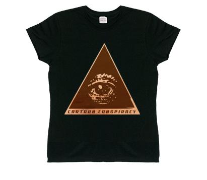 Cartoon Conspiracy Women's Ancient Logo T-Shirt