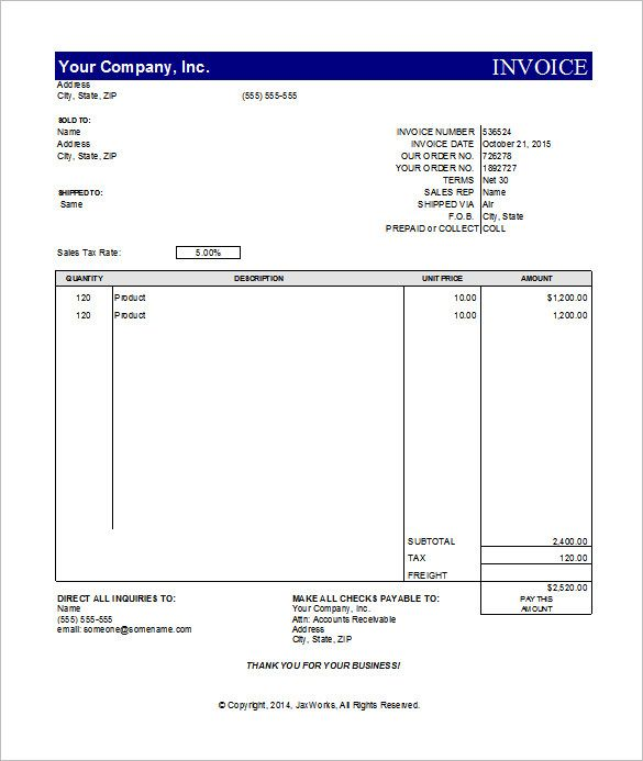 Simple Invoice Template Excel Invoice Template For Mac Online - Simple invoice template for mac