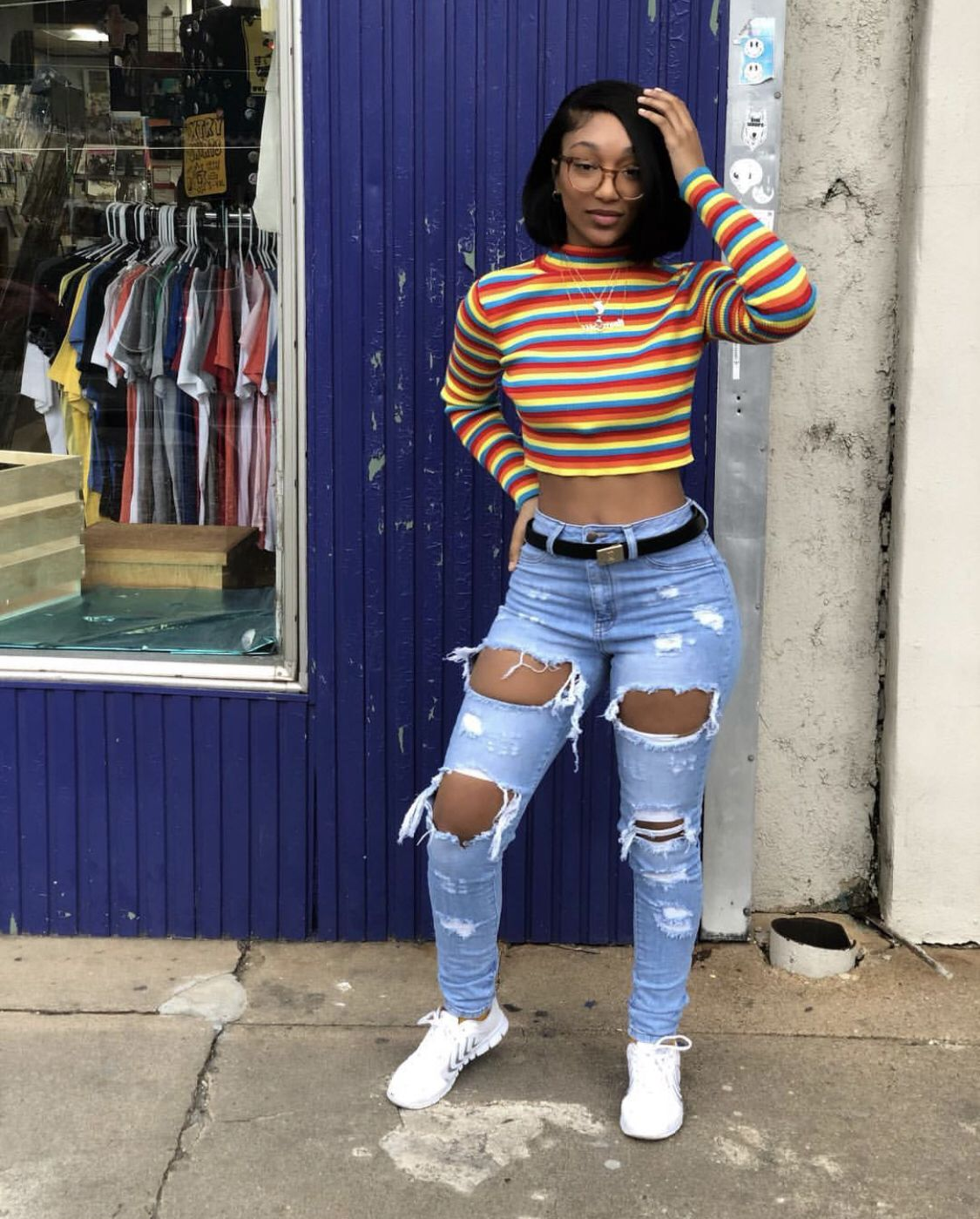 90s Black Fashion Girl: Pin On Cute School Outfits