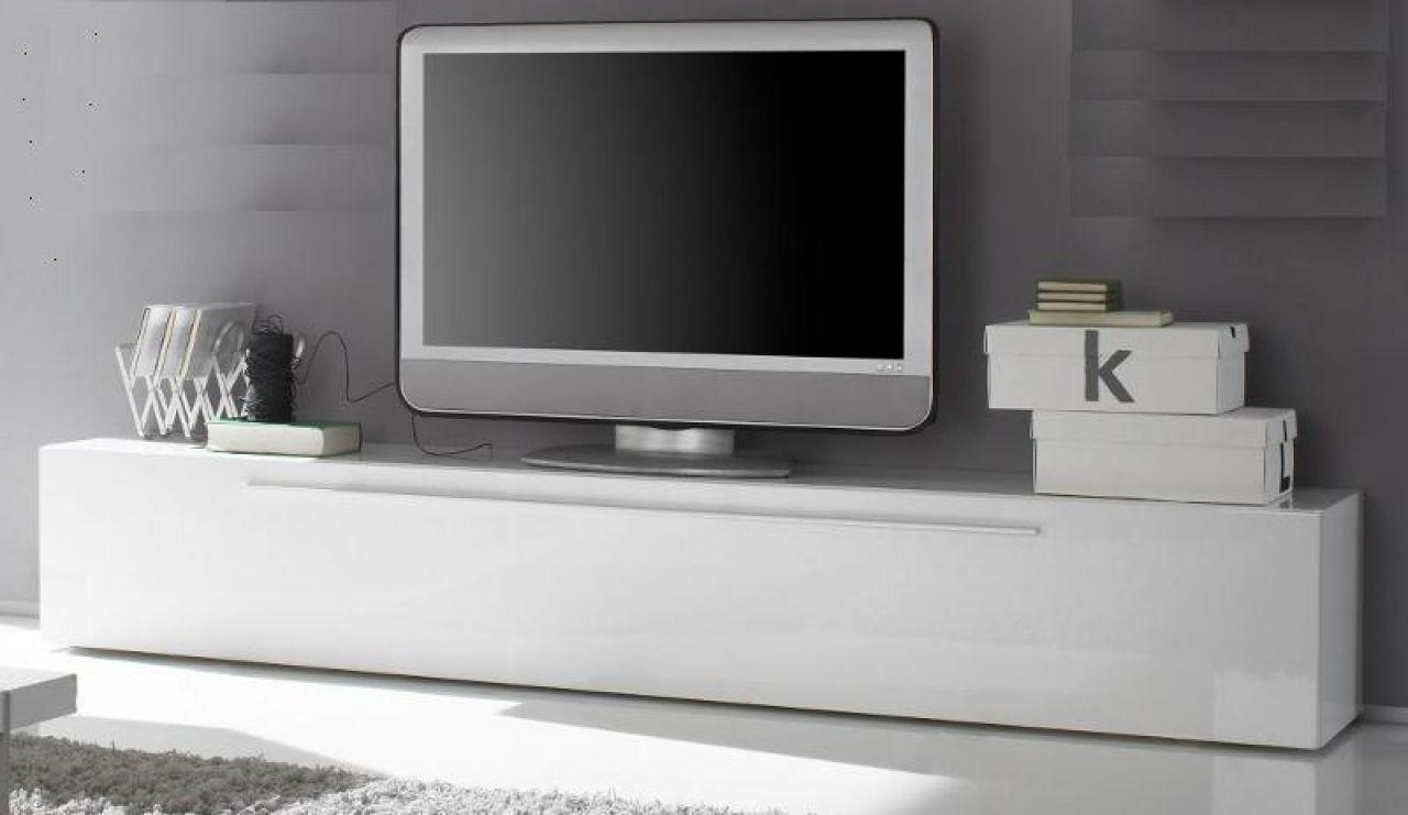 Lowboard Tv Unterteil Weiss Hochglanz Lack Italien Splendore13 Bei