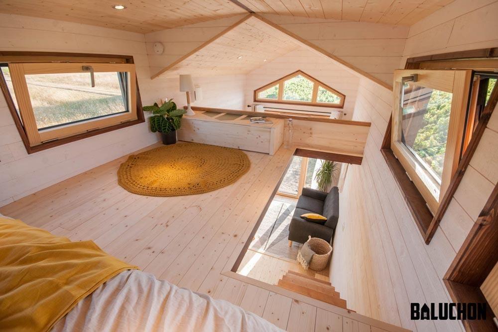 "6m ""Epona"" Tiny Home on Wheels by Tiny House Baluchon #tinyhome"