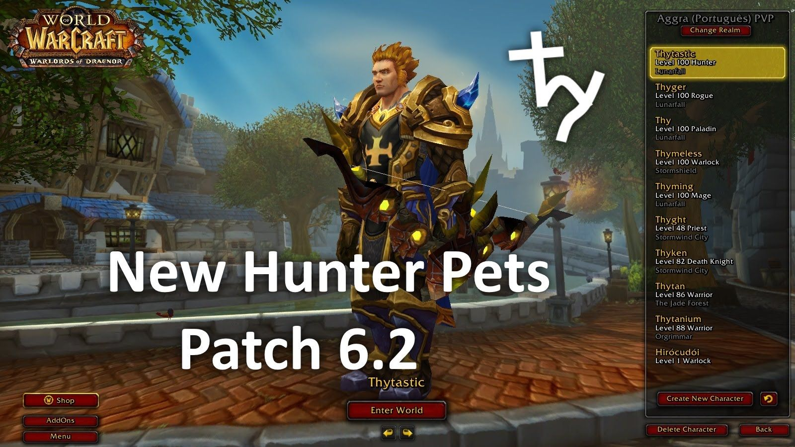 Cool New Hunter Pets Patch 6 2 World Of Warcraft News Warcraft World Of Warcraft