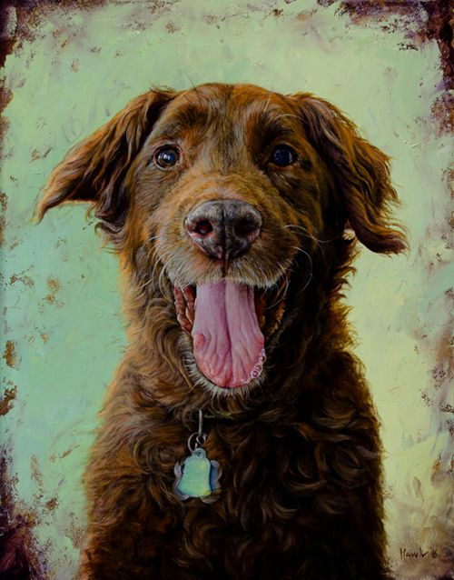 New York City Dog Portrait & Oil Paintings For Sale By