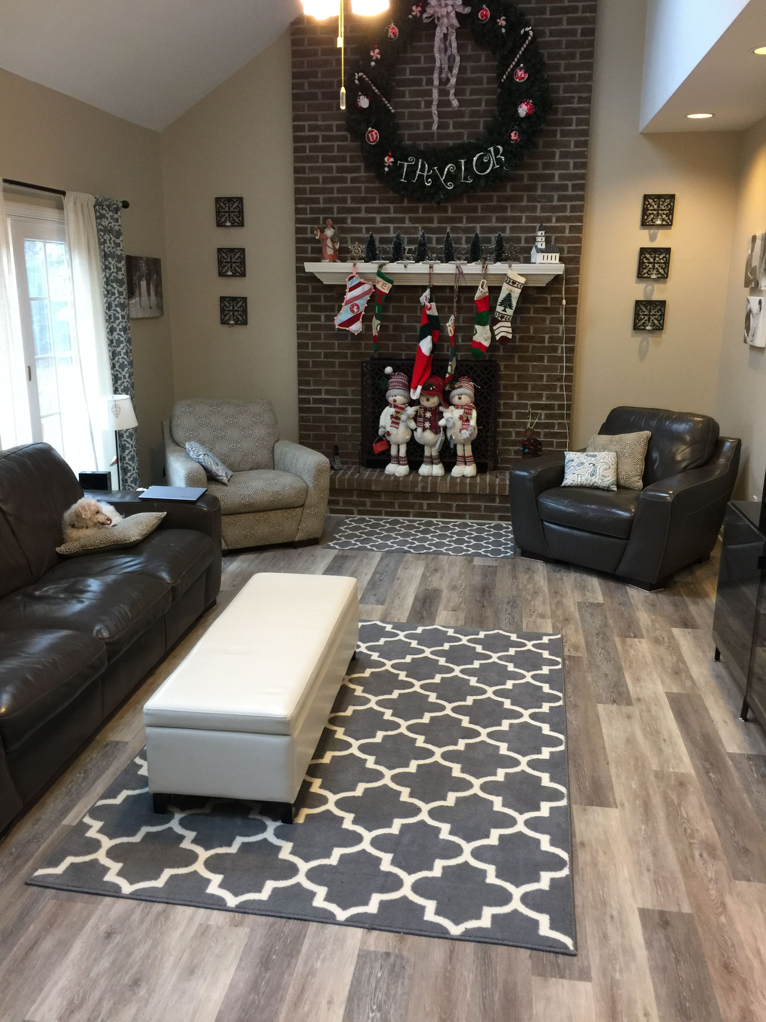 Vinyl Plank Flooring Living Room - Zion Star
