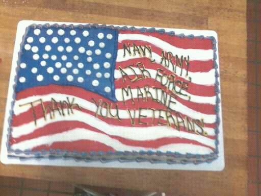 Veterans Day Cake With Images Patriotic Cake Veteran S Day