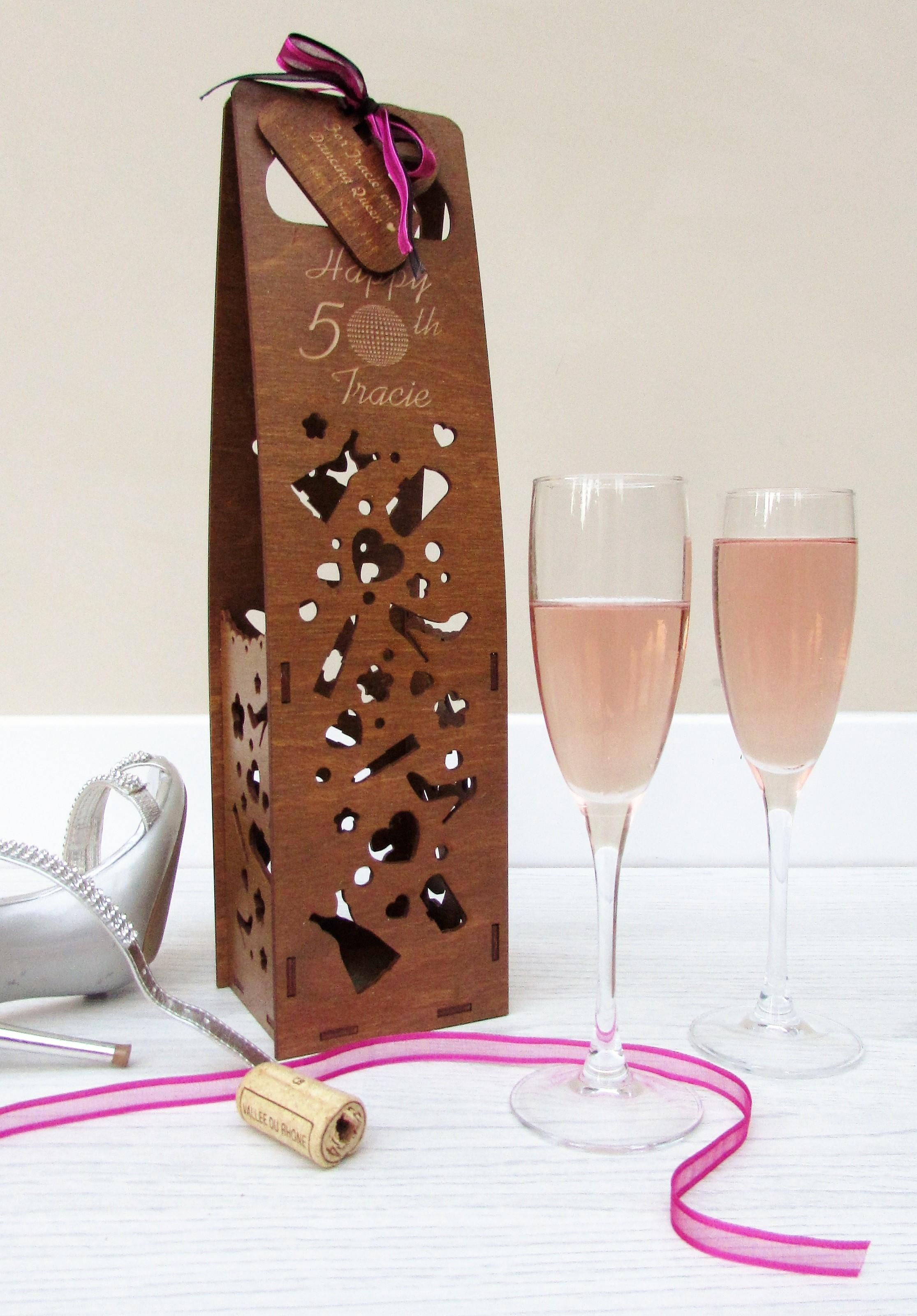 Wine Holders For Gifts This Full Sized 70cl Wine Bottle Holder Is Ideal As A Gift
