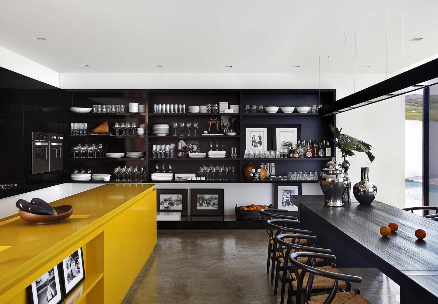 designer kuche kalea cesar arredamenti harmonischen farbtonen, galería de casa la / studio guilherme torres - 13 | studio, house, Design ideen
