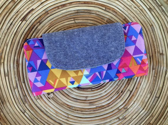 Womens wallet-Slim Wallet-Minimalist Wallet pink by MadebyKristyC