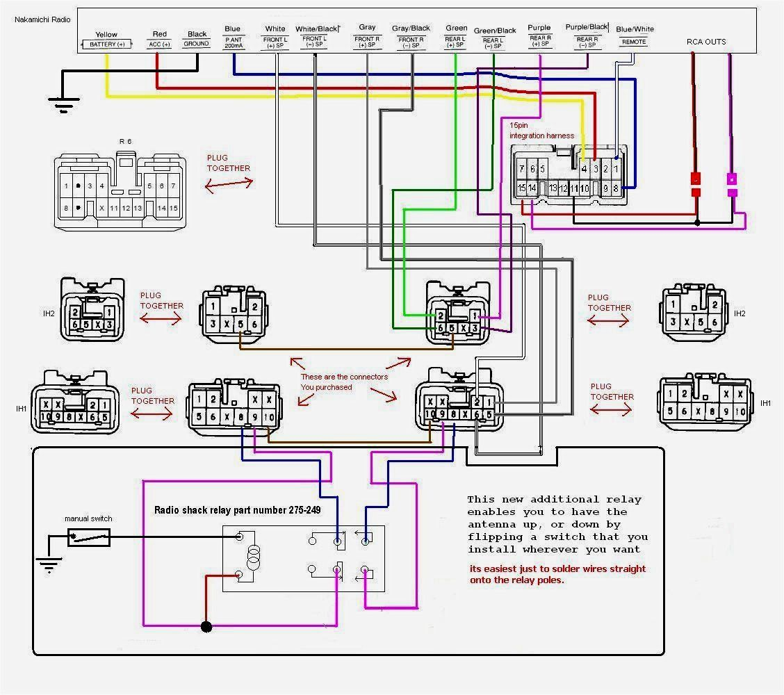 Dual Radio Wiring Diagram Agnitum Me New Stereo Car Stereo Systems Car Stereo Car Audio