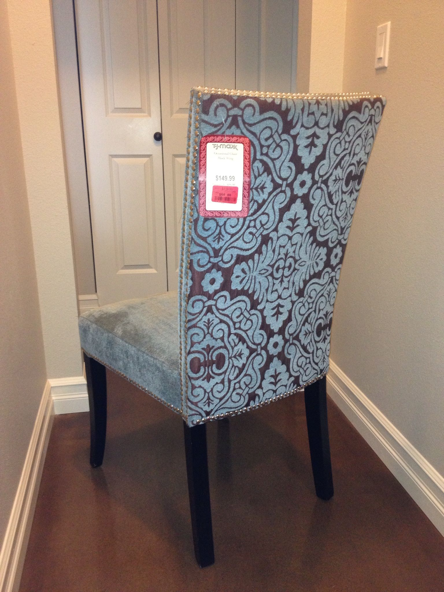 Tj Maxx.. SCORE!!! Cynthia Rowley Chair! (60.00! Part 16