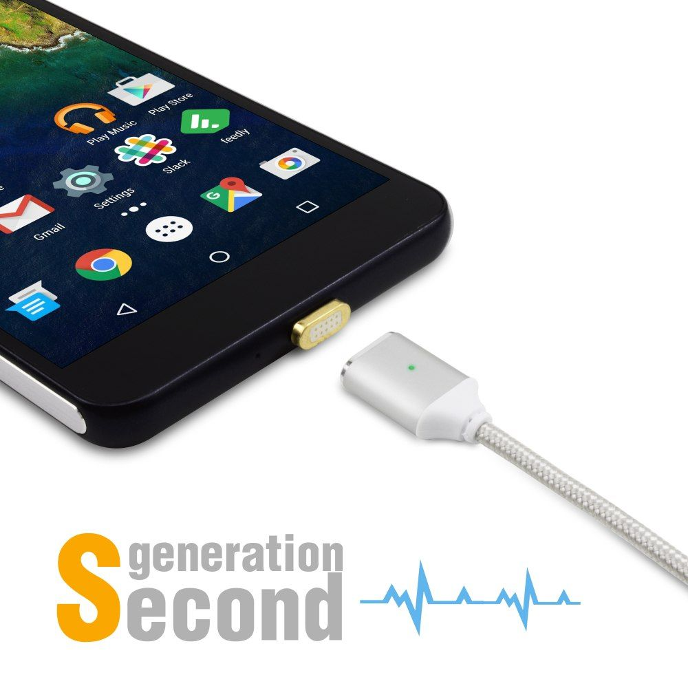 Magnetic Type C Phone Cable For Sony Xperia Xz Premium Xzs Xa1 Ultra X Compact Htc U11 U Ultra U10 One Plus 3 5 3t 2 Charger Phone Cables Sony Xperia Cable