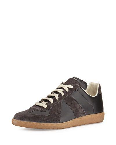 Mens Mens Replica Nubuck Sneakers Maison Martin Margiela jegRipm