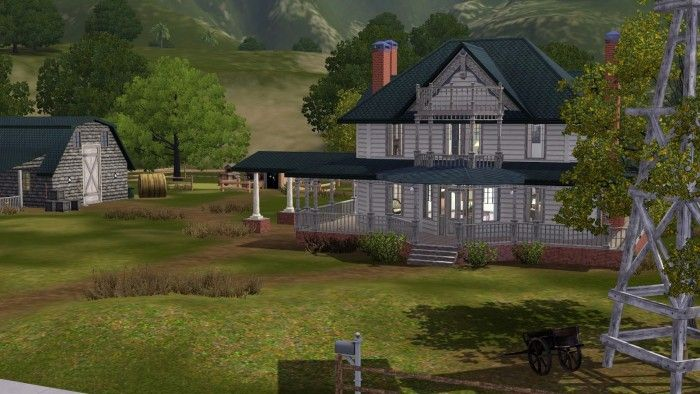 The Walking Dead Hershel's Farm by Ruthless - Sims 3