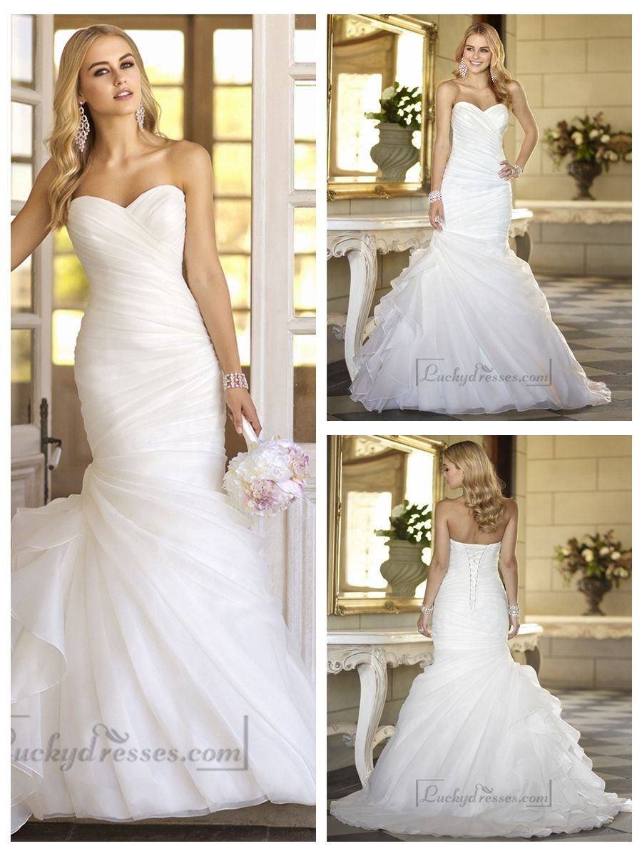 Sweetheart Vintage Wedding Dresses