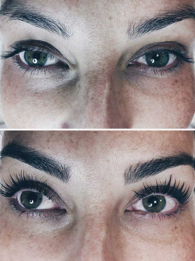 Natural Long Lashes Eyelash Lift Or Eyelash Perm Favorite Mascara