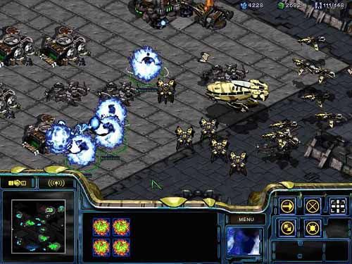 Starcraft 1 - Interesting game, strategy, difficult to learn