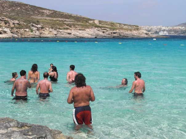 11 Swimming at the Blue Lagoon