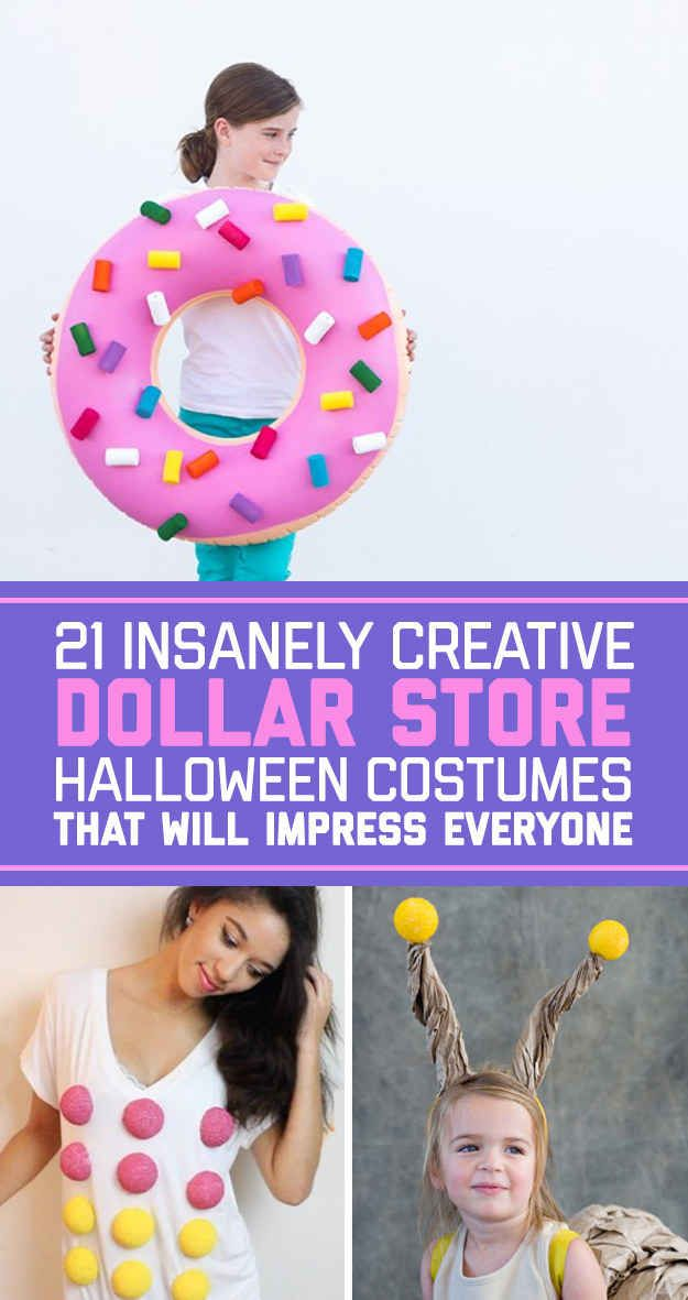 Iu0027ve Always Been Called That... Maybe Itu0027s Time To Bring It To Life Lol! 21  Insanely Creative Dollar Store Halloween Costumes That ...