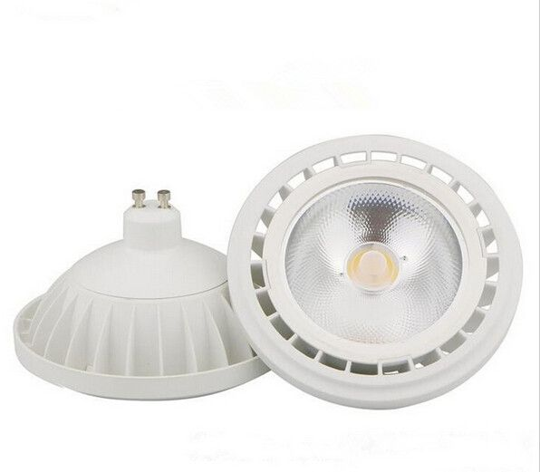 Free Shipping Dimmable Cob 15w Ar111 G53 Gu10 Led Spot Light Bulb Ultra Bright High Power 85 265v Led Spot Lamp Warranty Led Spot Led Spotlight Ceiling Lights