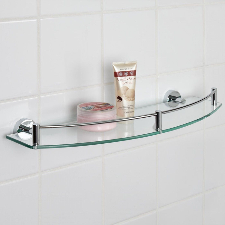 Tempered Glass Shower Shelves Https Www Otoseriilan Com Glass Shelves In Bathroom Glass Bathroom Shelves Glass Shelves Decor