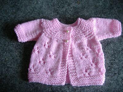Premature Baby Crochet Cardigan Pattern : mariannas lazy daisy days: August 2013 - premature baby ...