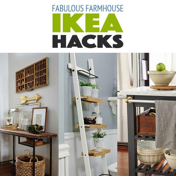 Fabulous Farmhouse IKEA Hacks Farmhouse mirrors, Ikea hack and