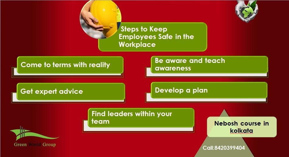 Steps to Keep Employees Safe in the Workplace.For safety