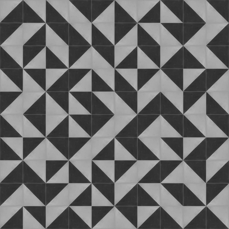Oblique Cement Tiles - Geometric Design - Shop Online