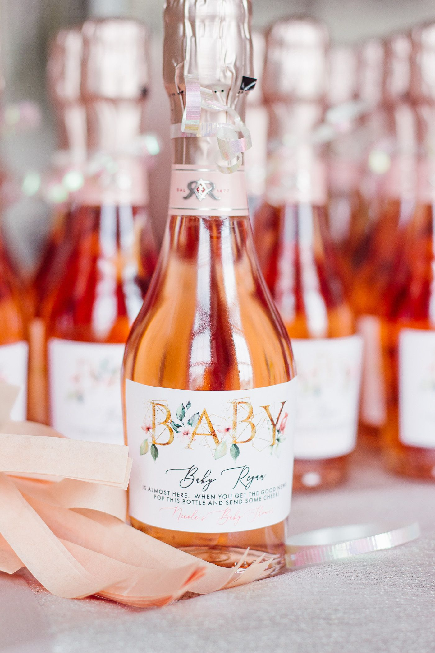 Champagne Favors Shining On Design Champagne Favors Wine Bottle Champagne