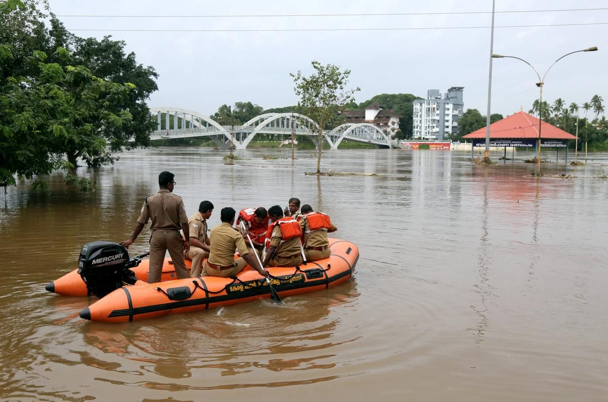 India S Kerala State On High Alert After Floods Kill 34 With