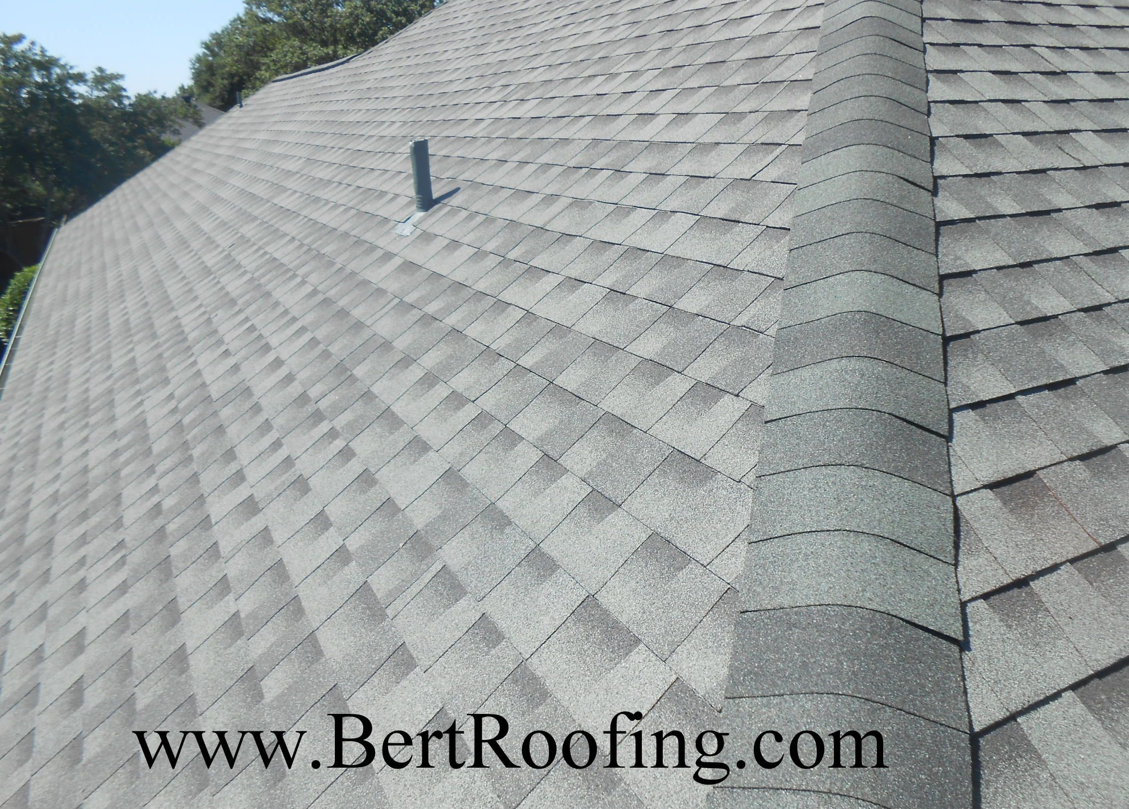 Gaf Armorshield Ii Class 4 Impact Resistant Composition Shingle Color Slate Installed By Bert Roofing Inc O Roofing Roofing Contractors Shingling