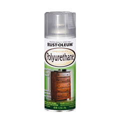 Rust Oleum Specialty Polyurethane Spray Provides A Clear Protective Finish That Protects From Scuff Marks Abrasions Rustoleum Gloss Spray Paint Polyurethane