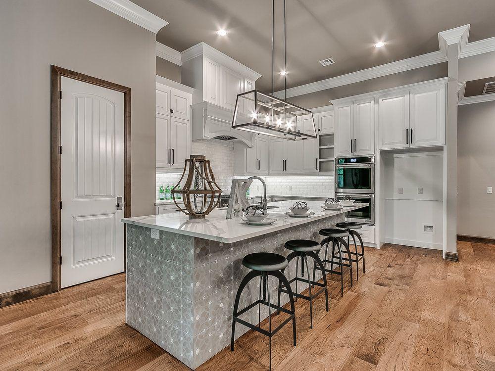 stain trim, white doors, white kitchen   White doors ...