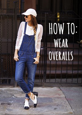 How To Wear Overalls (and Look Stylish!) In Every Season ...