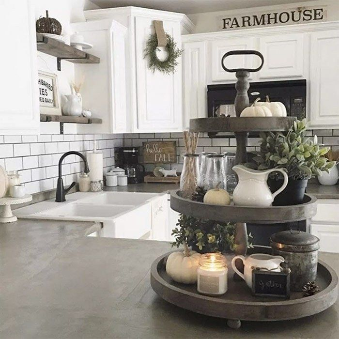 Farmhouse Kitchen Ideas On A Budget Rustic Kitchen Decor