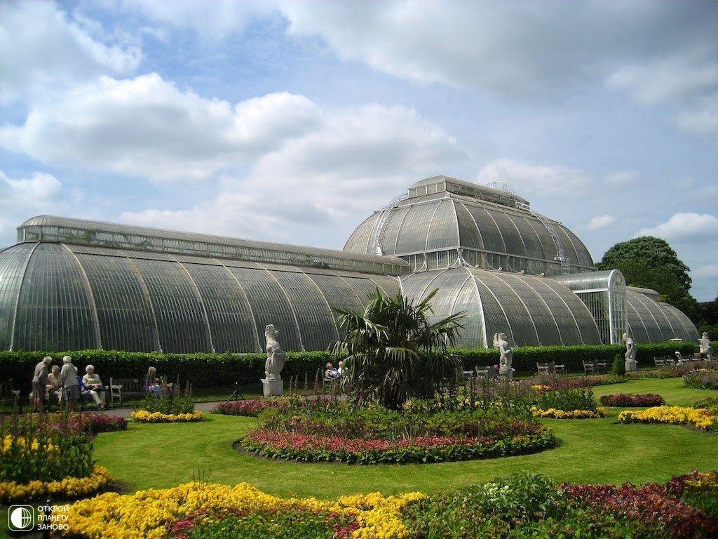 Королевские ботанические сады кью фото