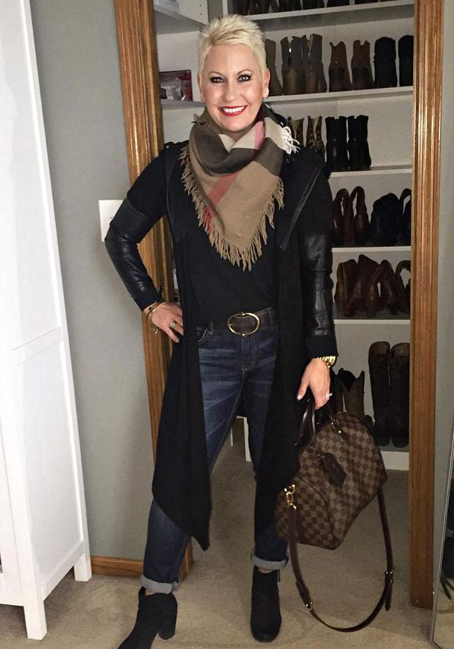 Fashion Unfolded By Mandy A Style Interview Fabulous After 40 What I Wore Over 40 Style