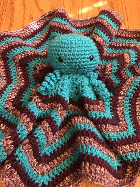 Crochet Octopus Lovey Crochet Crochet Octopus Crochet Projects