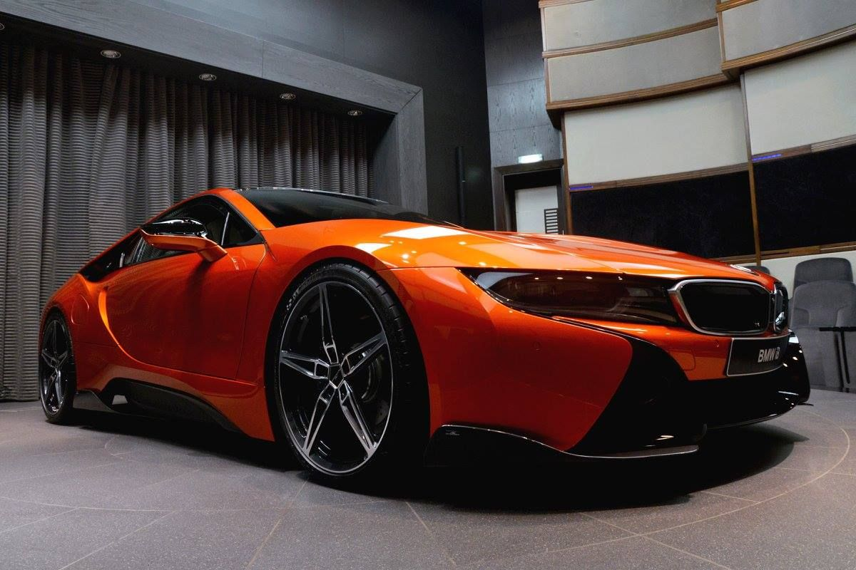 Bmw I8 Coupe Edrive Blue Electric Acschnitzer Tuning