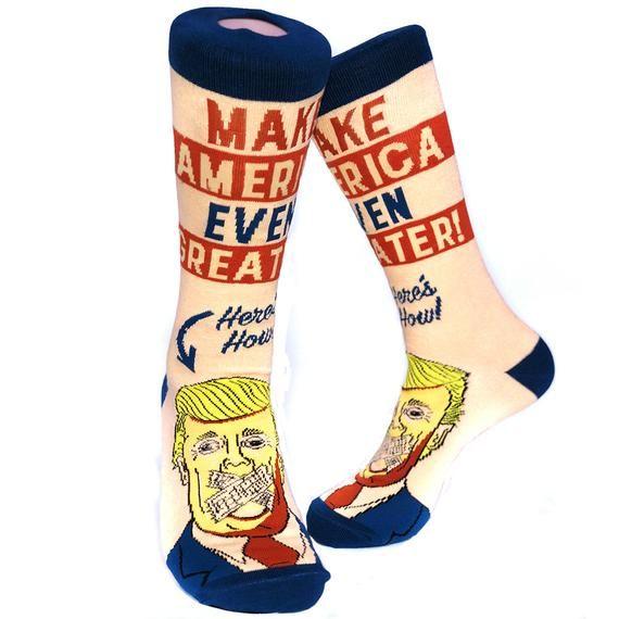 17f5de014bd Unisex Anti Trump Socks