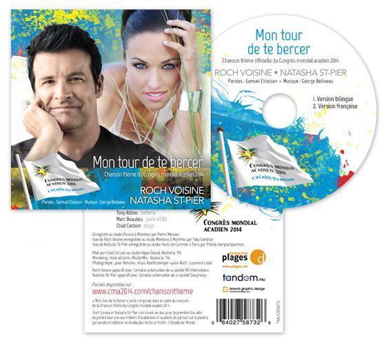 CD - Chanson Thème Du Congrès Mondial Acadien 2014