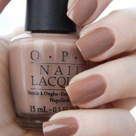 """OPI """"San Tan Tonio""""- goes with almost everything"""