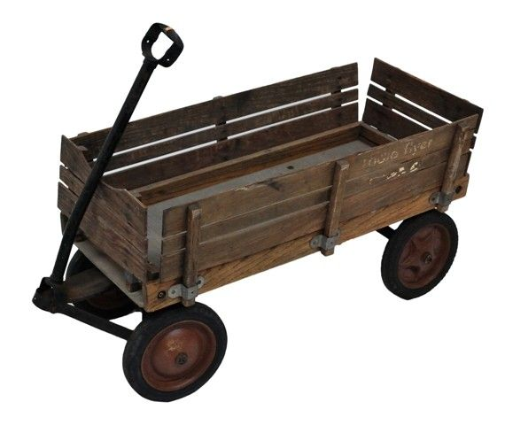The Partial Words Radio Flyer Can Just Be Made Out On Both Of The Wood Side Rails But Is Quite Worn Description F Radio Flyer Wagons Radio Flyer Vintage Radio